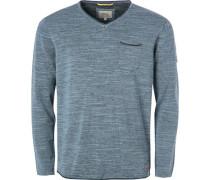Pullover, Baumwolle, grau