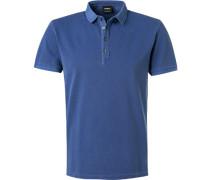 Polo-Shirt, Baumwoll-Piqué, rauch