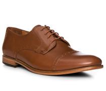 Schuhe Brogue, Leder, cuoio