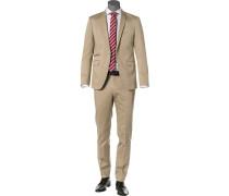 Anzug, Shape Fit, Baumwoll-Stretch