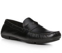Schuhe Mokassins, Leder