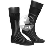 Serie Shadow, Socken, Baumwolle, -grau