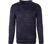 Pullover, Wolle,  meliert