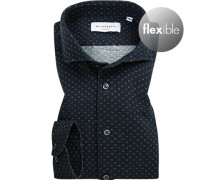 Hemd, Tailored Fit, Baumwoll-Piqué