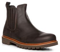 Schuhe Chelsea Boots, Leder wasserfest, dunkel