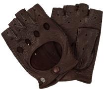 Autofahrer-Handschuhe, Peccaryleder, mittel