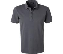 Polo-Shirt, Baumwoll-Piqué, stein