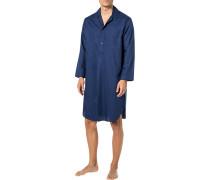 Nachthemd, Baumwolle, navy