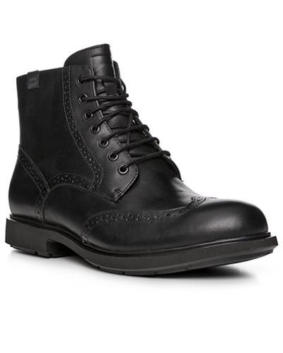 Camper Herren Schuhe Schnürstiefeletten, Leder