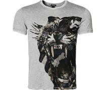T-Shirt, Viskose-Stretch
