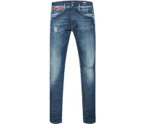 Jeans Anbass, Slim Fit, Baumwolle 12oz, jeans