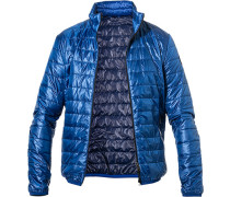 Steppjacke, Slim Fit, Mikrofaser, azur