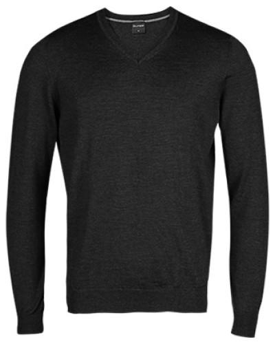 Pullover, Modern Fit, Merinowolle, graphit