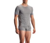 T-Shirt, Modal-Carbon-Stretch, grau