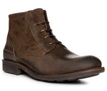Schuhe Schnürboots, Veloursleder
