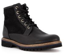 Schuhe Boots, Leder Lammfell gefüttert