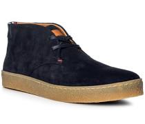 Schuhe Desert Boot, Veloursleder, dunkel