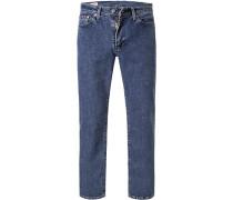 Jeans 514 Straight Fit Baumwoll-Stretch mittel