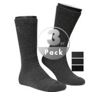Socken, Baumwolle, navy-schwarz-grau