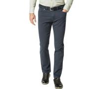 Jeans, Regular Fit, Baumwoll-Stretch