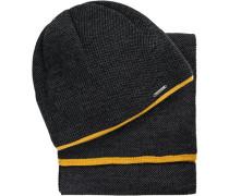 Schal + Mütze im Geschenkset