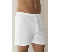 Unterwäsche Boxershorts, Baumwolle, weiß oder