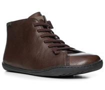 Schuhe Sneakers, Leder, dunkel