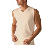Unterwäsche Tanktop, Baumwolle COOLMAX®, beige