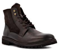 Schuhe Schnürboots Gilford, Rindleder Lammfell gefüttert