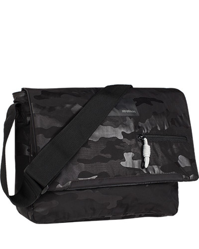 Strellson Herren Messenger Bag, Nylon