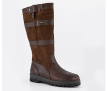 Schuhe Stiefel, Leder GORE-TEX, walnuss