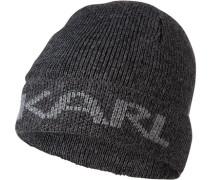 Mütze, Wolle, dunkel