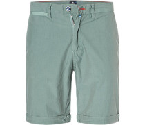 Hose Bermudashorts, Regular Fit, Baumwolle, mint