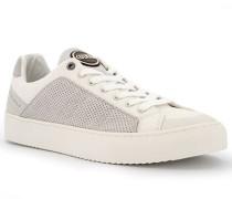 Schuhe Sneaker, Veloursleder, offwhite