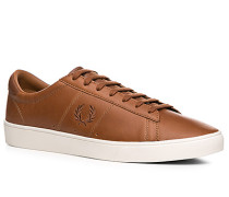 Schuhe Sneaker, Leder Ortholite®, cognac
