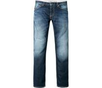 Jeans, Slim Fit, Baumwolle 11 oz, indigo