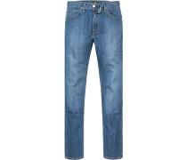 Jeans, Regular Fit, Baumwolle, jeans
