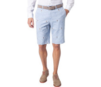 Hose Bermudashorts Pulia, Slim Fit, Baumwolle