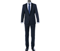 Anzug Smoking, Woll-Stretch, nacht