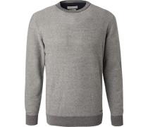 Pullover, Baumwolle, nacht gemustert
