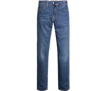 Jeans, Slim Fit, Baumwoll-Strech