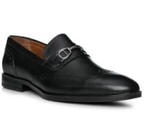 Schuhe Loafer, Kalbleder