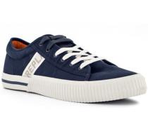 Schuhe Sneaker, Textil, marine