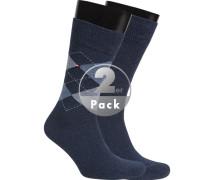 Socken, Baumwolle, jeans