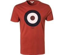 T-Shirt, Baumwolle, karmesin