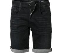 Jeansshorts Anbass, Baumwoll-Stretch
