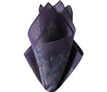 Accessoires Einstecktuch, Wolle, lila paisley