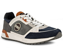 Schuhe Sneaker, Veloursleder, navy-