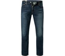 Jeans 527, Slim Fit, Baumwoll-Stretch, dunkel