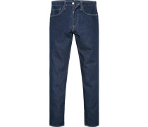 Jeans 502, Regular Taper, Baumwoll-Stretch, dunkel